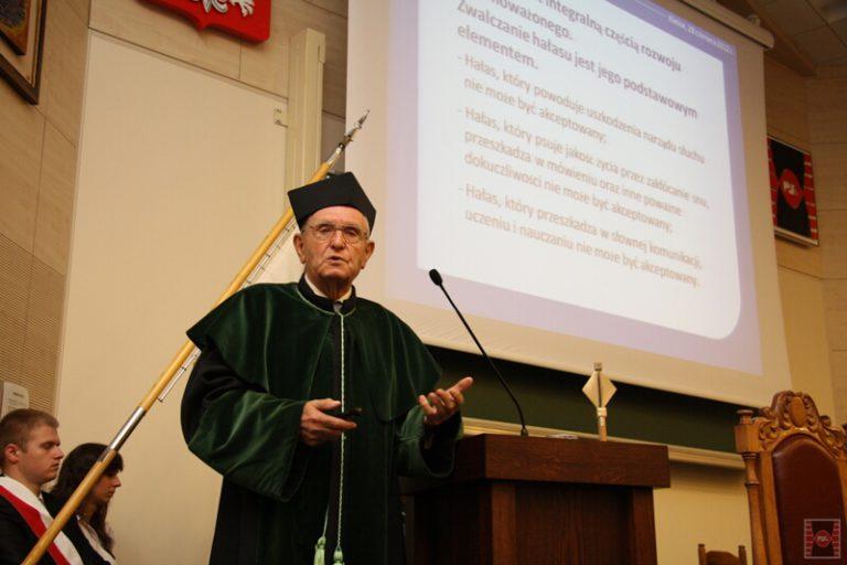 Nadanie tytułu doktora honoris causa Politechniki Świętokrzyskiej prof. dr hab. inż. Zbigniewowi Witoldowi Engelowi