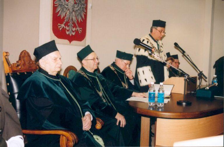 Nadanie tytułu doktora honoris causa Politechniki Świętokrzyskiej prof. Wojciechowi Szczepińskiemu