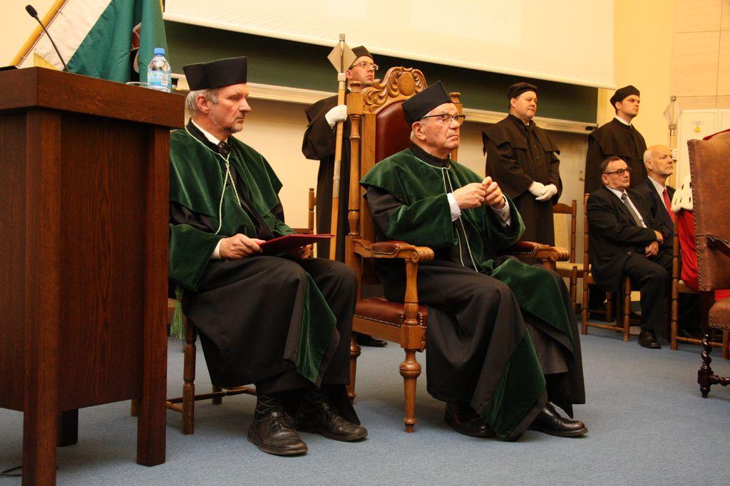 Uroczyste nadanie tytułu doktora honoris causa Politechniki Świętokrzyskiej Prof. zw. dr hab. inż. Władysławowi Włosińskiemu, czł. rzecz. PAN, dr h. c.