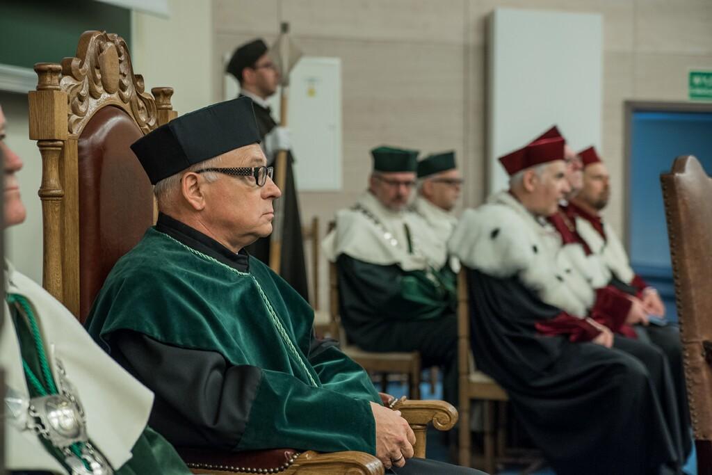 Nadanie tytułu doktora honoris causa prof. dr hab. inż. Januszowi Kowalowi,dr h.c.
