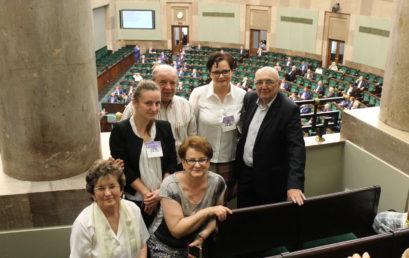 Z wizytą w Sejmie RP
