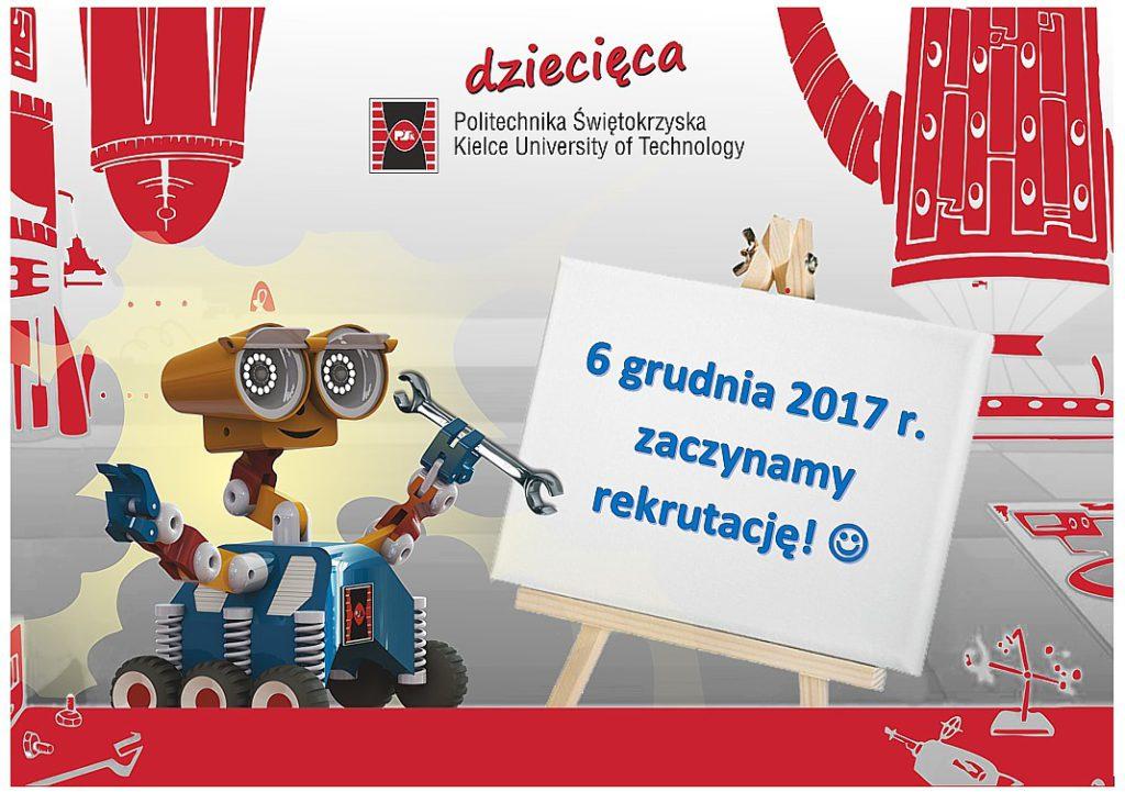 Dziecięca Politechnika Świętokrzyska – startujemy!