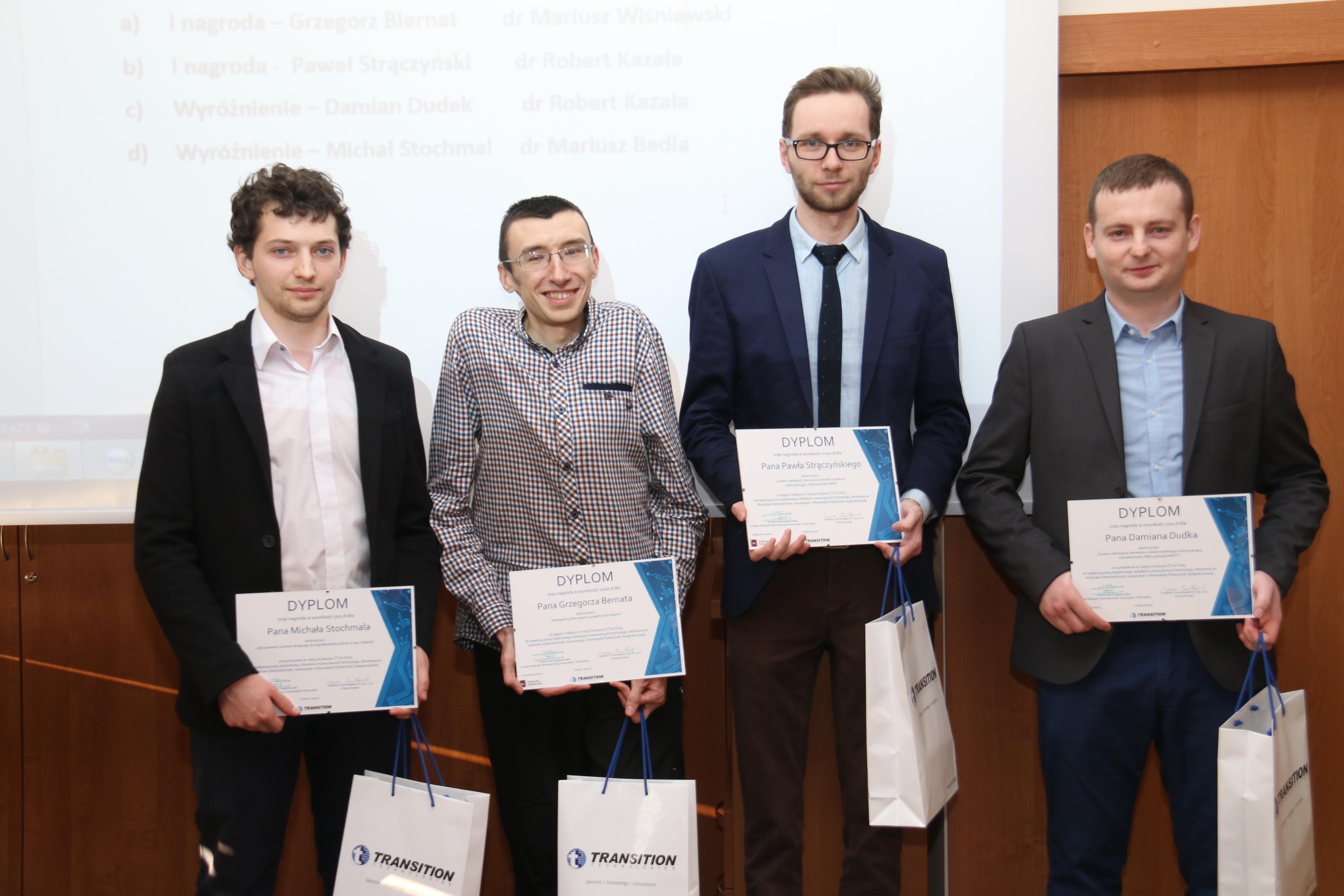 Innowacyjne pracy dyplomowe nagrodzone