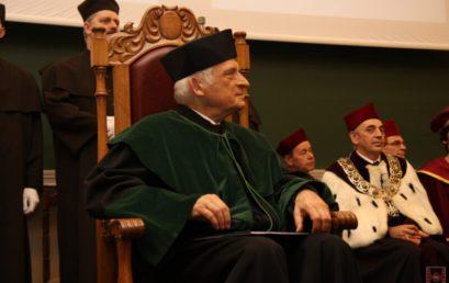 Nadanie tytułu Doktora Honoris Causa rrof. dr hab. inż. Jerzemu Buzkowi, dr h.c.