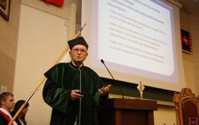 Nadanie tytułu doktora honoris causa prof. dr hab. inż. Zbigniewowi Witoldowi Engelowi, dr h.c.