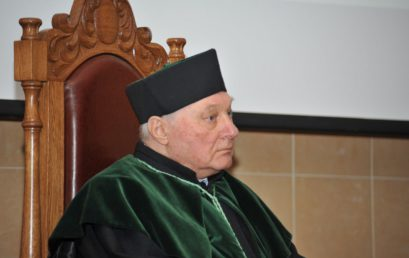 Nadanie tytułu doktora honoris causa prof. dr hab. inż. Wołodimirowi A. Marcinkowskiemu, dr h.c.