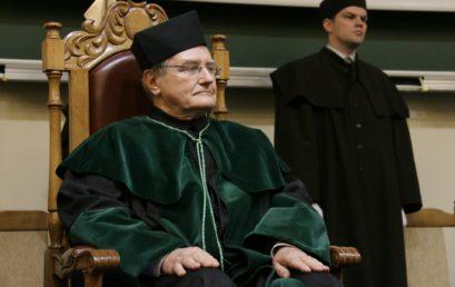 Nadanie tytułu doktora honoris causa prof. dr hab. inż. Wojciechowi Radomskiemu dr h.c.