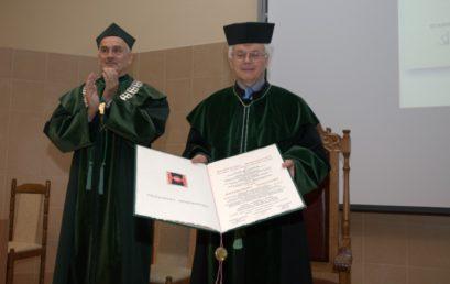 Nadanie tytułu doktora honoris causa prof. dr hab. inż. dr h.c. Antoninowi Vitečkowi