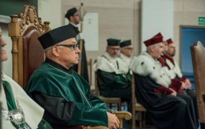 Nadanie tytułu doktora honoris causa prof. dr hab. inż. Januszowi Kowalowi, dr h.c.