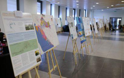 Wystawa map GIS z Chorwacji