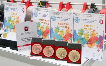 Sukces studentów-wynalazców na wystawie IWIS 2017
