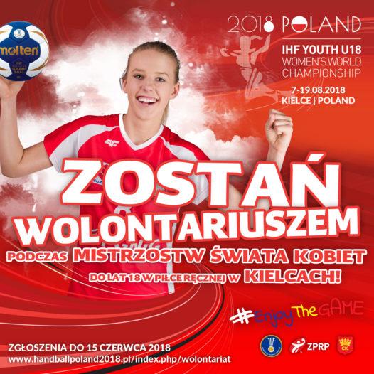 Zostań wolontariuszem podczas Mistrzostw Świata
