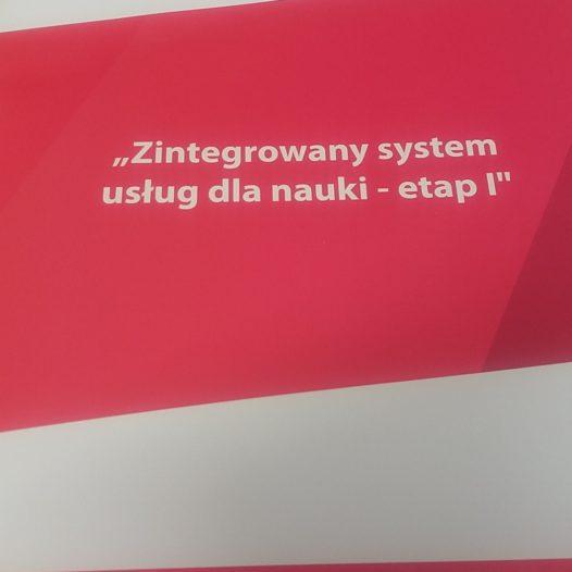 Szkolenie z obsługi Zintegrowanego systemu usług dla nauki (ZSUN)