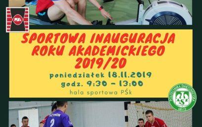 Sportowa Inauguracja Roku Akademickiego 2019/2020