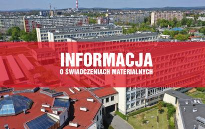 Informacja o Świadczeniach Materialnych