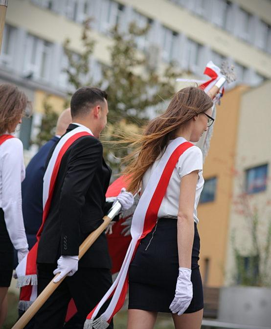 Inauguracja roku akademickiego 2021/22 dla studentów I roku na Wydziałach
