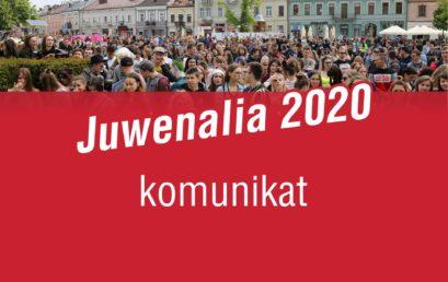 Komunikat Samorządu Studenckiego – Juwenalia 2020