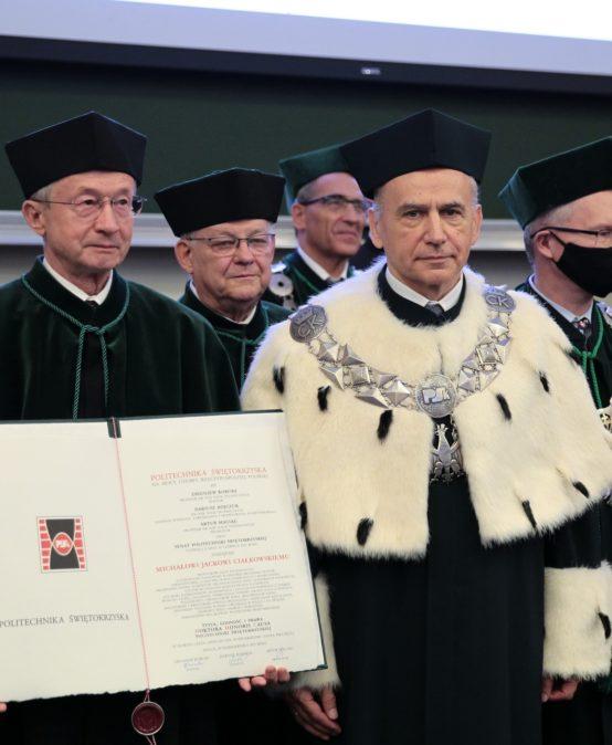 Nadanie tytułu Doktora Honoris Causa Prof. Michałowi Ciałkowskiemu